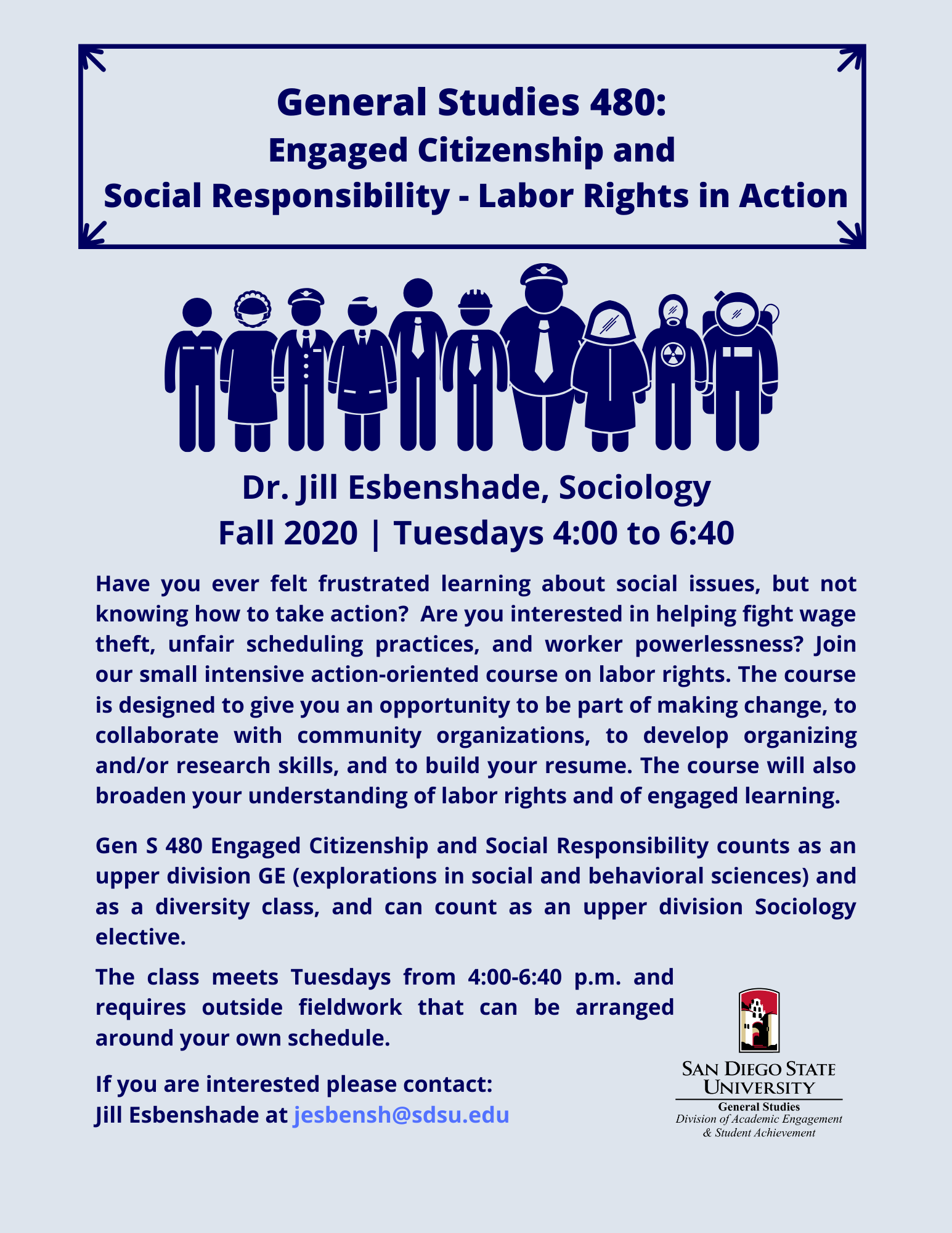GENS 480: Labor Rights in Action