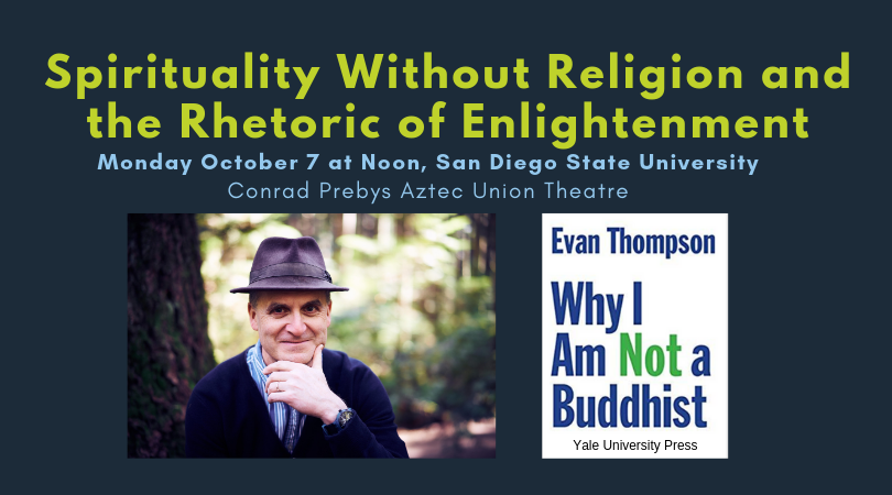 Spirituality Without Religion and the Rhetoric of Enlightenment flyer